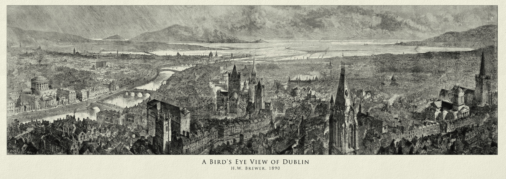 Old Irish Maps And Prints Archives Jam Art PrintsJam Art Prints - Old maps of dublin
