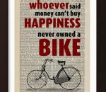 pat-byrne-print-on-vintage-book-page-happiness-bike