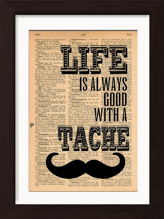 pat-byrne-print-on-vintage-book-page-life-always-good-with-tache