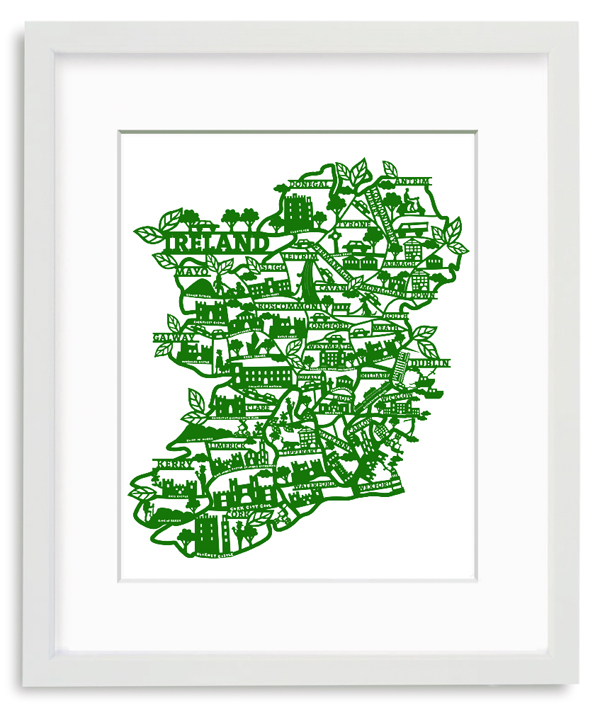 Westmeath Ireland Map.Westmeath Archives Jam Art Printsjam Art Prints