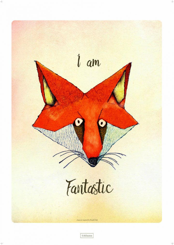 Carlos-Anazco-roald-dahl-jam-art-factory-print-fantastic-mr-fox