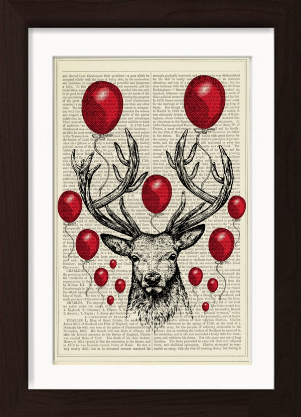 pat-byrne-print-on-vintage-book-page-red-balloons-stag